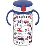 Richell Aqulea Outing Straw Mug 320ml Navy