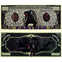 Black Panther Million Dollar Bill In Currency Holder by American Art Classics [並行輸入品]