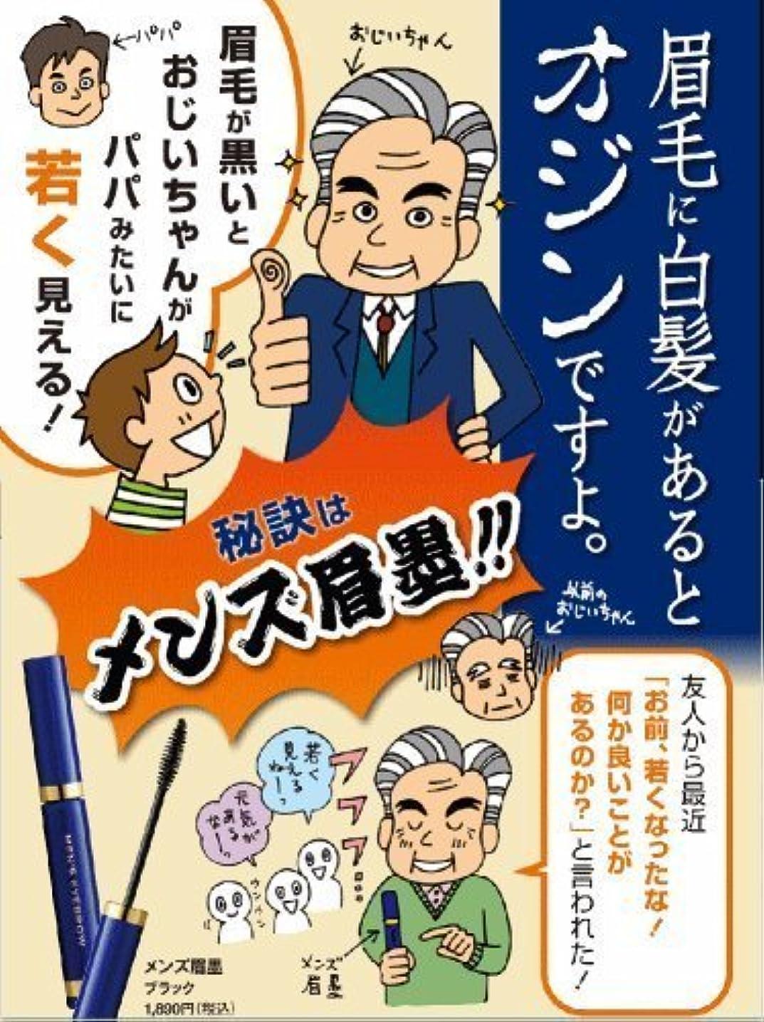 進化する任命するソーダ水男性専用 眉に限定した白髪隠し メンズ眉墨