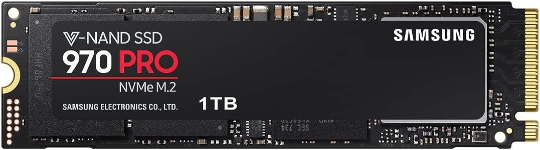 Samsung SSD 1TB 970 PRO M.2 Type2280 PCIe3.0×4 NVMe1.3 5年保証 正規代理店保証品 MZ-V7P1T0B/EC