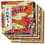石川紙業 千代紙セット 小 人形付 1079