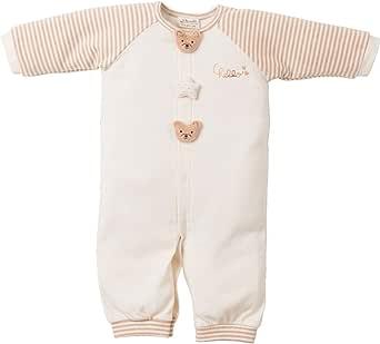 Amorosa mamma 天使の糸 & 妖精の森 クマモチーフの兼用ドレス オーガニックコットン 綿100% 男女兼用 AH143