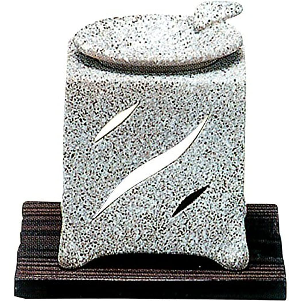 ブレーススナップ太字常滑焼 5-261 山房石風角形茶香炉 山房10×10×H12㎝