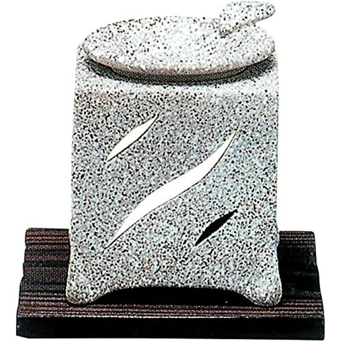 ベッドを作る有名アパル【常滑焼】山房 石風角形茶香炉 石風角形 10×10×H12㎝ 5-261