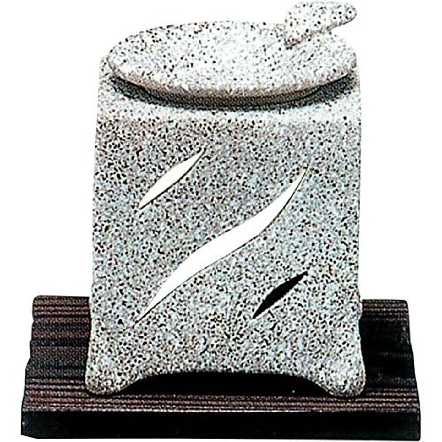 ダイヤル哀れなコンパス常滑焼 5-261 山房石風角形茶香炉 山房10×10×H12㎝