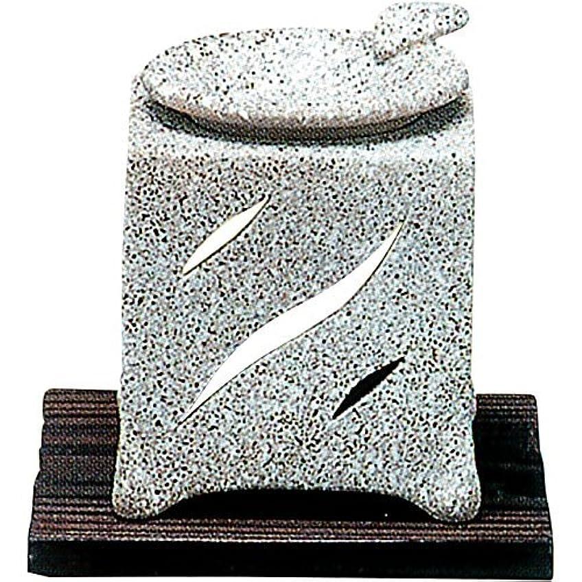 モールス信号プレート謎めいた常滑焼 5-261 山房石風角形茶香炉 山房10×10×H12㎝