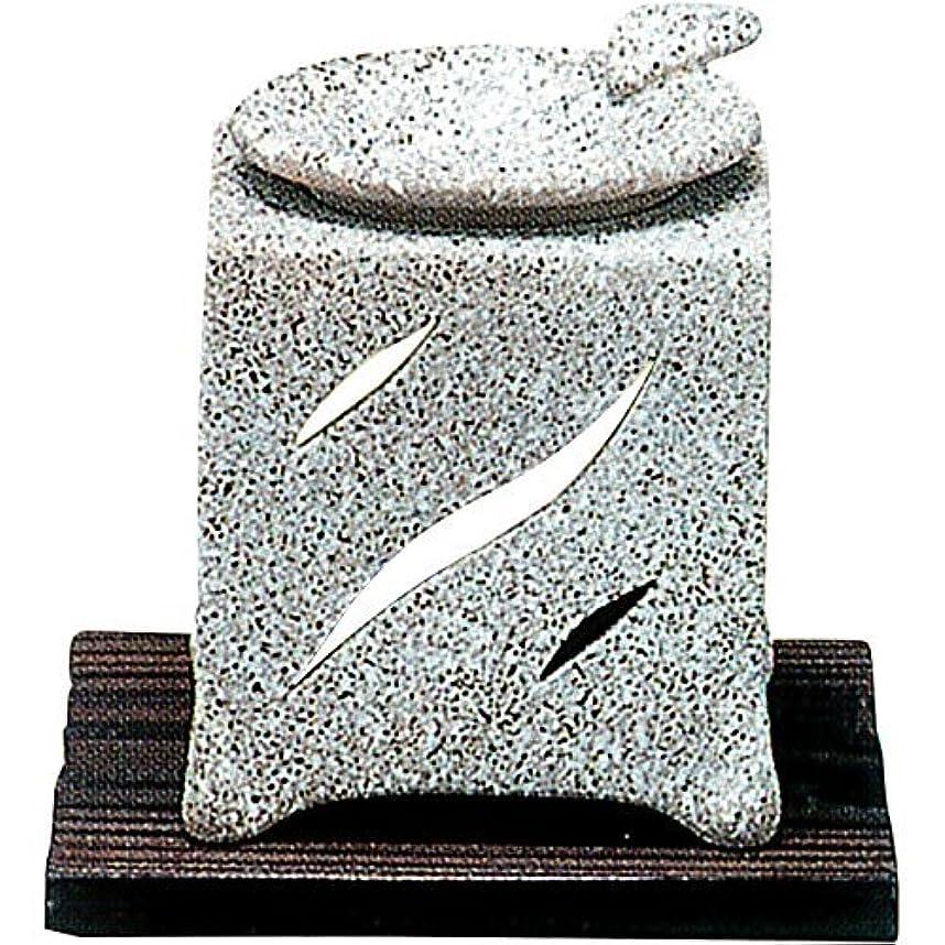 ゴールド申込みルーキー常滑焼 5-261 山房石風角形茶香炉 山房10×10×H12㎝