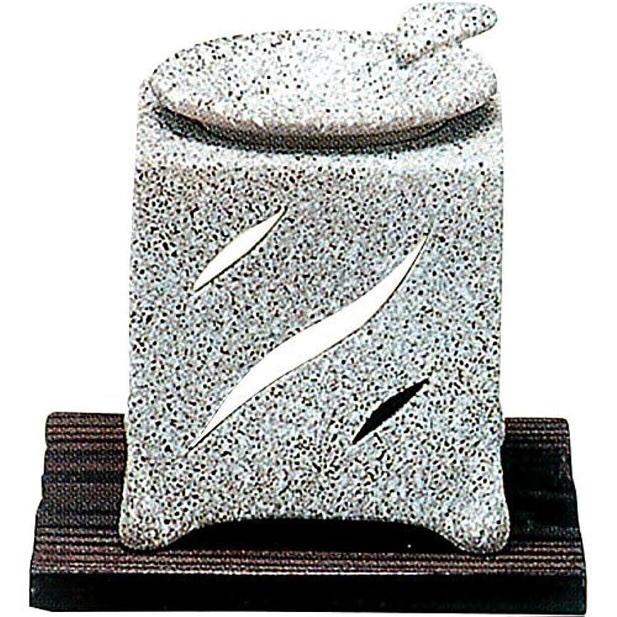 もっともらしい減衰【常滑焼】山房 石風角形茶香炉 石風角形 10×10×H12㎝ 5-261