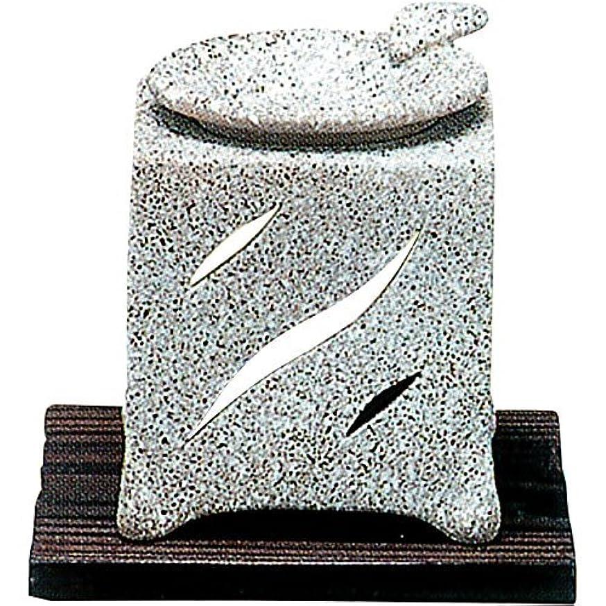 かけがえのない大型トラック真似る【常滑焼】山房 石風角形茶香炉 石風角形 10×10×H12㎝ 5-261