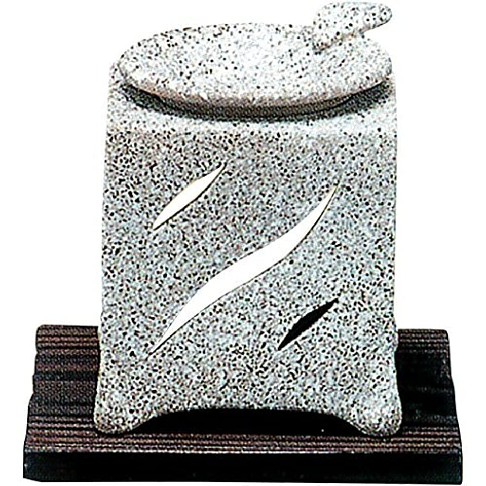 陰気分布のために【常滑焼】山房 石風角形茶香炉 石風角形 10×10×H12㎝ 5-261