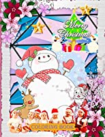 Merry Christmas Coloring Book: New and Expanded Editions, 100 Unique Designs, Ornaments, Christmas Trees, Wreaths, and More,(coloring book for kids).