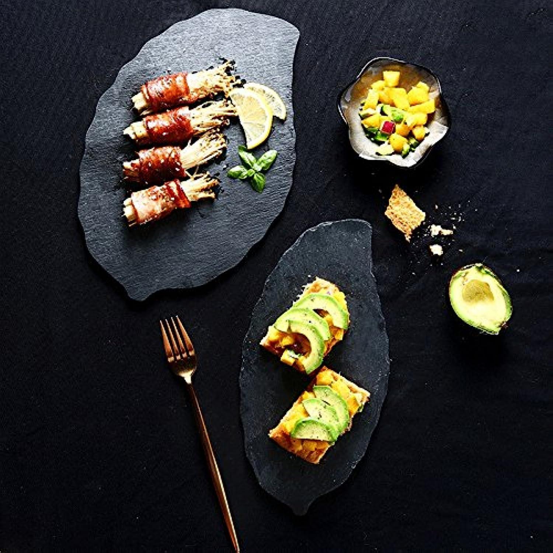 housewaresstore- 寿司プレートクリエイティブリーフロックプレートステーキプレートホテル食器焼きそばデザートプレート plate (サイズ さいず : S s)