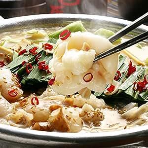 博多 若杉 厚切り 小腸 もつ鍋セット 牛もつ鍋 もつ鍋 醤油味 (2~3人前)