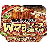 「日清食品 デカうま Wマヨソース焼そば 153g ×12個」のサムネイル画像