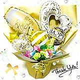 開店祝い*結婚記念日に*キャンディブーケ バルーンギフト*シャンパン*送料無料