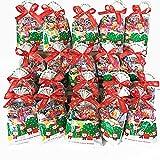 クリスマスお菓子 詰め合わせ オリジナルお菓子 クリスマス会 子ども ギフト クリスマス巾着(M)20個入り