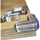 Skyla Homes - Clear Corner Protectors | High Resistant Adhesive Gel | Best Baby Proof Corner Guards | Stop Child Head Injurie