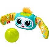 Fisher-Price Rollin' Rovee, interactive activity toy with music, lights, and learning content for kids ages 6 months to 5 yea