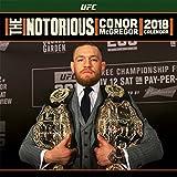 Conor McGregorポスターカレンダー – UFC , The Notorious、公式カレンダー2018 ( 12 x 12インチ)