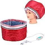 ヘアスチーマーキャップ, ヘアヒートキャップ 裏外防水 加温キャップ 髪染め 温度制御 加熱キャップ温度制御過熱保護電気スチーマーヘアカバーキャップ220ボルト