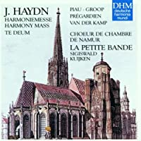 Haydn;Harmony Mass/Te Deum
