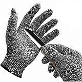 WISLIFE(ウィスライフ)防刃手袋 作業用手袋 料理用切れない手袋 【女性と子供の安全のために】 1双 Sサイズ