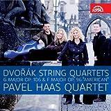 ドヴォルザーク:弦楽四重奏曲第12番「アメリカ」, 同第13番ト長調 (Dvorak String Quartets - G Major Op.106 & F Major Op.96 ''AMERICAN'' - Pavel Hass Quartet) [日本語帯・解説付輸入盤]