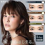 アンヴィ ワンデー 1箱10枚入 度あり 【カラー】プラム ブラック 【PWR】-1.25