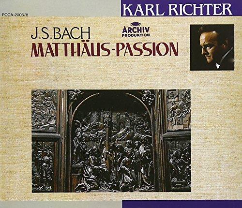 バッハ:マタイ受難曲 BWV244の詳細を見る