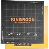 Kingroon 磁気2層プリントホットベッドステッカービルド表面テープKP3およびKP3S 180x180mm