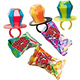 Topps Ring Pop Twisted Fruit Pop Candy - 6 Piece Value Pack