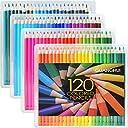 色鉛筆 120色セット FIVE STAR 120色鉛筆 塗り絵 スケッチ用 アート鉛筆 プレゼント用 秘密花園の本に適用色鉛筆