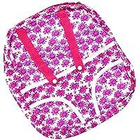 Dovewill  18インチアメリカンガールドール適用  赤ちゃん  かわいい バックパック  人形  キャリア  布製 全2色 - 02