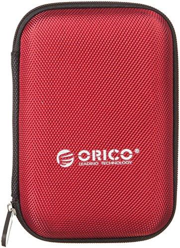 オリコ ORICO 2.5インチ HDD、SSD 収納ケース Samsung T5 SSD収納対応 ポータブルHDDケース 防震/防塵/防衝撃 5色 レッド オリコ(ORICO) PHD-25-RD