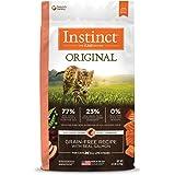 Instinct 6175876 Original Grain-Free Recipe with Real Salmon Dry Cat Food, 4.5lb