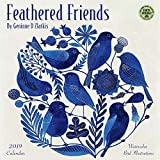 Feathered Friends 2019 Calendar: Watercolor Bird Illustrations