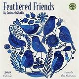Feathered Friends 2019 Calendar: Watercolor Bird Illustrations