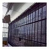 TMKSK 風通しも良い ベランダ シェード 防護網 オーニング目隠し 階段ガードレール保護ネット 取り付けも簡単で 150×300cm