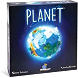 Blue Orange 7700 Games Planet Board Game - Award Winning Kids, Family or Adult Strategy 3D Board Game for 2 to 4 Players. Rec
