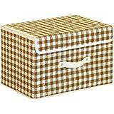 不二貿易 インナー ボックス チェック ブラウン TYPE-A 91288