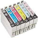 【Amazon限定ブランド】レイワインク エプソン(Epson) IC6CL50 対応 6色セット対応 リサイクルインク 日本製JIT-NE506PZN