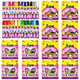 (24/Set) - FLYFAY 24 Oil Pastel Art Set Bulk Pack of 12 Set, Children's Colouring Supplies with Tapered Points, Hexagonal Shape and Brilliant Colours - 24 Durable Artists Pastels