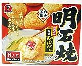#572821 かねます食品 冷凍 明石焼(たこ焼)粉末和風だし付 48個入(6個×8袋入)