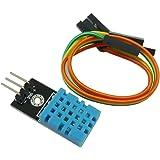 KKHMF DHT11 湿度センサーモジュール 温度センサー モジュール Arduinoと互換 デュポンラインと付属 [並行輸入品]