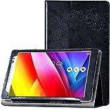 ASUS ZenPad 8 タブレット ケース PUレザー (ブラック)