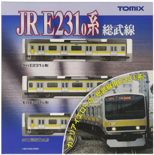 TOMIX Nゲージ 92343 E231系通勤電車 (総武線) 基本3両セット