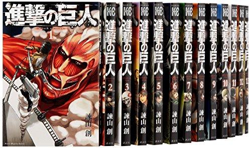 進撃の巨人 コミック 1-25巻セット...