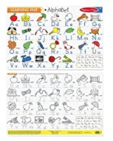Melissa & Doug's Alphabet Write-A-Mat (Bundle of 6)
