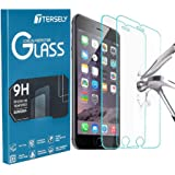 TERSELY [2 Packs] Screen Protector for iPhone 8 Plus/iPhone 7 Plus/iPhone 6s Plus/iPhone 6 Plus, Case Friendly Tempered Glass