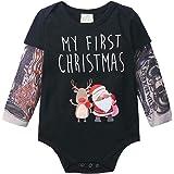 JOBAKIDS Tattoo Sleeve Romper for Baby Boy Infant Jumpsuit Newborn T-Shirt Outfits Cotton Onesie